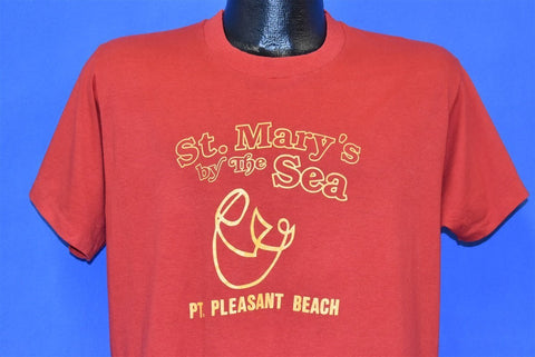 80s St Mary's By the Sea Point Pleasant Beach t-shirt Large