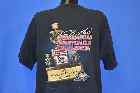 90s Jeff Gordon '95 NASCAR Winston Cup Champ t-shirt Large