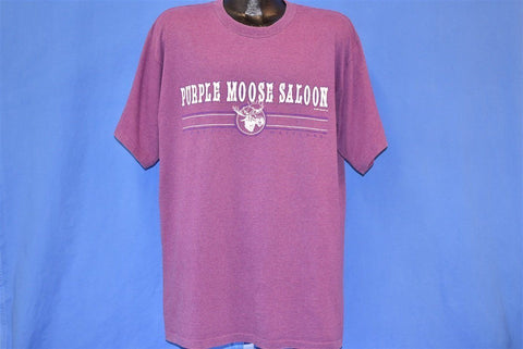 90s Purple Moose Saloon Ocean City MD t-shirt Extra Large