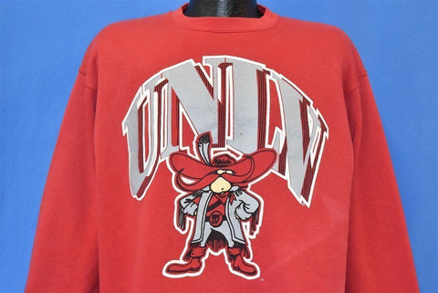 90s UNLV Runnin Rebels Sweatshirt Large