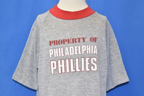 80s Philadelphia Phillies Property Baseball t-shirt Youth Extra Large
