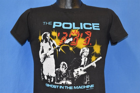 80s The Police Ghost in the Machine Tour 1982 t-shirt Small
