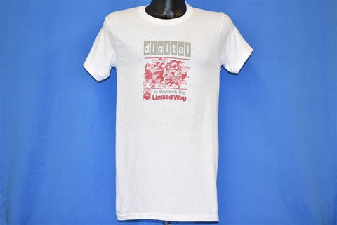 80s Digital Equipment Corporation United Way t-shirt Small