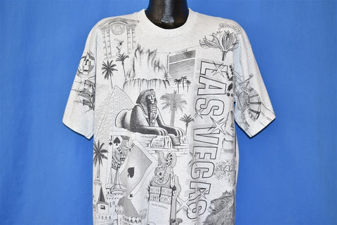90s Las Vegas All Over Print t-shirt Extra Large