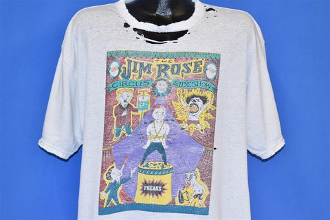 90s Jim Rose Circus Sideshow Distressed t-shirt Extra Large