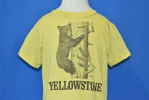 80s Yellowstone National Park Black Bear t-shirt Toddler 3T