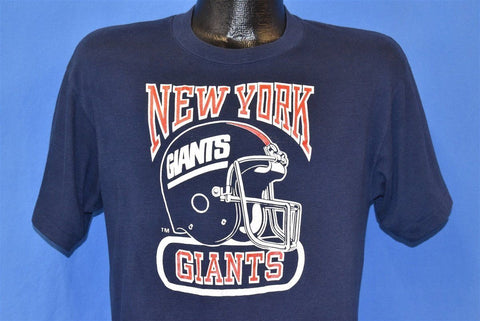 80s New York Giants NY NFL Football t-shirt Medium