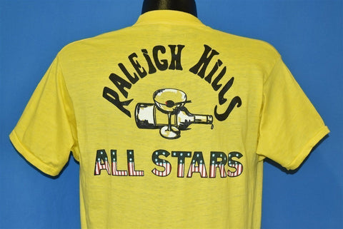 70s Raleigh Kills All Stars USA Flag t-shirt Large