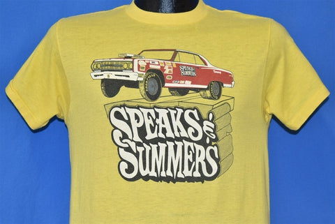 80s Speaks and Summers Hot Rod t-shirt Medium