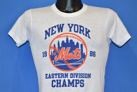 80s New York Mets Eastern Division Champs t-shirt Extra Small