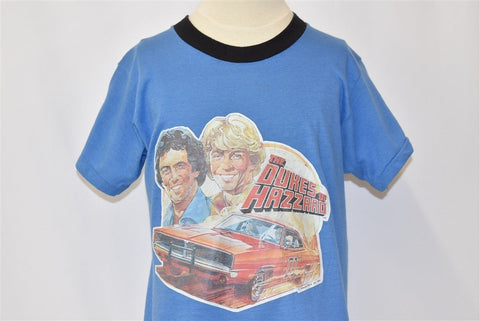 80s Dukes of Hazzard TV Show Ringer t-shirt Youth Medium
