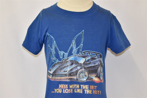 80s Pontiac Trans Am Mess With the Best t-shirt Youth Medium