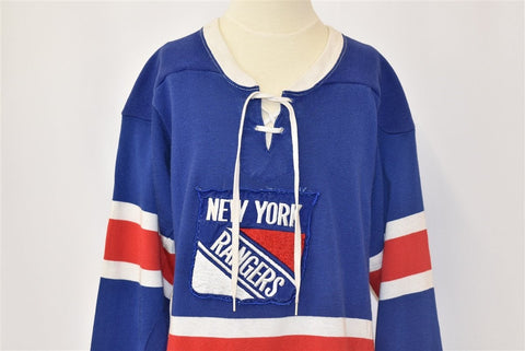 70s New York Rangers Hockey Jersey t-shirt Youth Medium