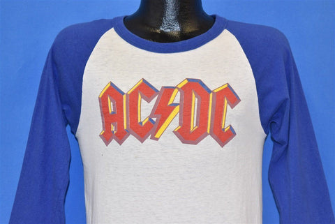 70s AC/DC Highway to Hell Tour 1979 Jersey Rock t-shirt Small