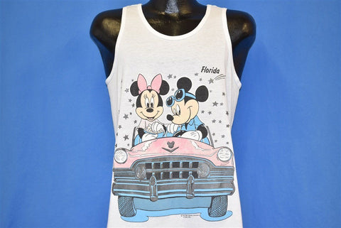 80s Mickey Mouse Minnie Florida Tank Top t-shirt Medium
