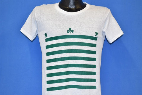 70s Shamrock Stars Clover St. Patrick's Day t-shirt Small