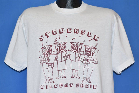 90s Stevenson Middle School Wildcat Choir t-shirt Extra Large