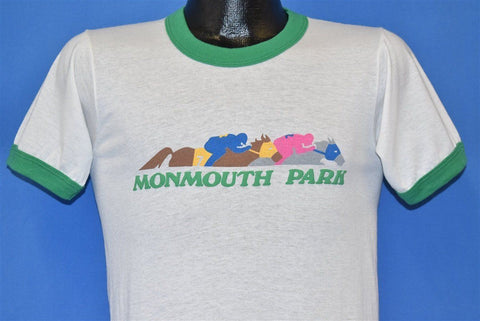 80s Monmouth Park Horse Racing Track Oceanport t-shirt Small