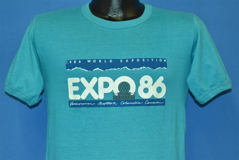 80s expo 86 World Exposition Vancouver t-shirt Small