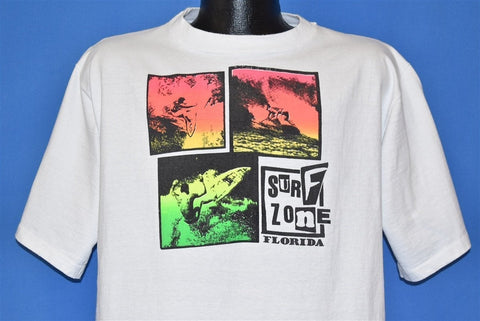 90s Surf Zone Florida The Game Neon t-shirt Large