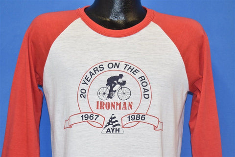 80s Ironman Bicycle Ride 20 Years On the Road t-shirt Medium