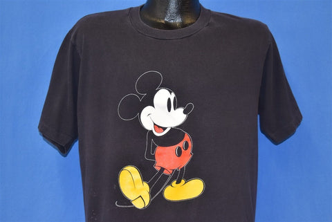 80s Mickey Mouse Walt Disney Cartoon t-shirt Large