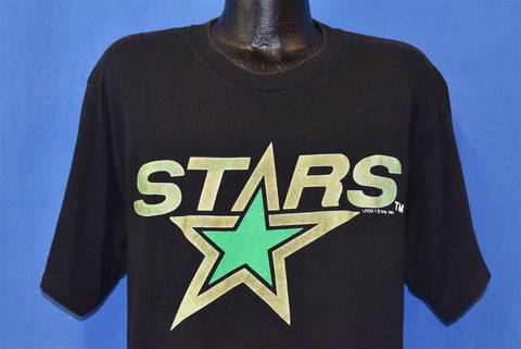 90s Minnesota North Stars NHL Hockey Logo t-shirt Extra Large