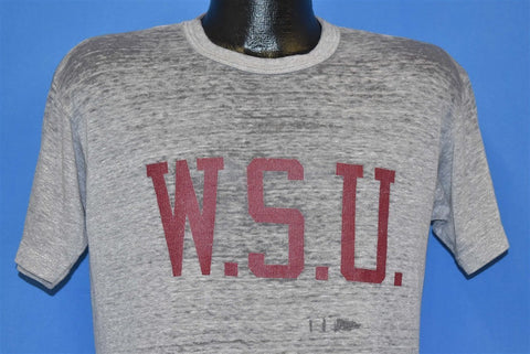 80s WSU Washington State University Distressed t-shirt Large