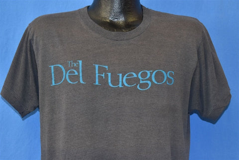 80s Del Fuegos World Tour 1986 Garage Punk t-shirt Large