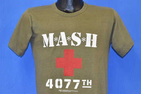80s M*A*S*H 4077th TV Show Mobile Army t-shirt Small