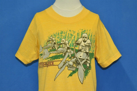 80s Star Wars Return of the Jedi Scout Bike t-shirt Youth Large