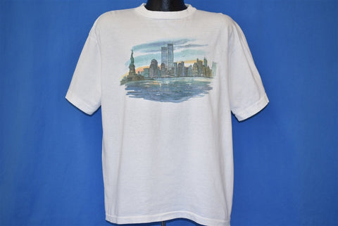 90s New York City Twin Towers WTC t-shirt Extra Large