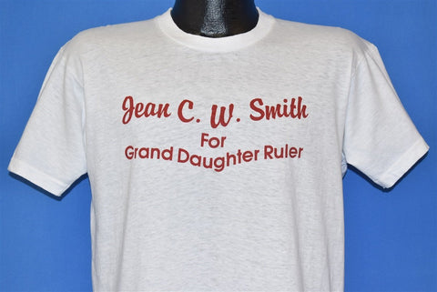 80s Jean CW Smith Grand Daughter Ruler Funny t-shirt Medium