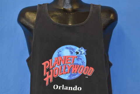 90s Planet Hollywood Orlando Disney Tank t-shirt Extra Large