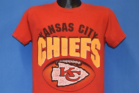 90s Kansas City Chiefs KC Logo NFL Football t-shirt Medium