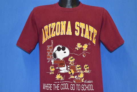 80s Arizona State Snoopy Joe Cool Woodstock t-shirt Medium