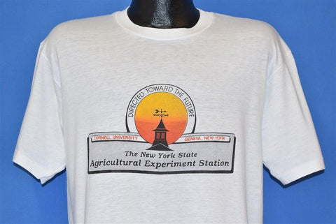 80s Cornell University New York Agricultural t-shirt Large