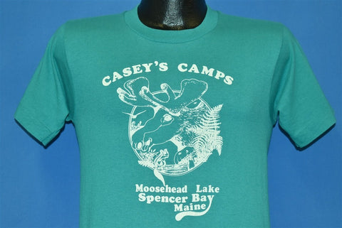 90s Casey's Camps Moosehead Lake Spencer Bay t-shirt Small