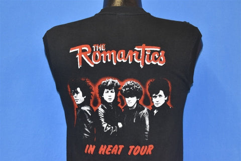 80s The Romantics In Heat Tour New Wave Band t-shirt Small