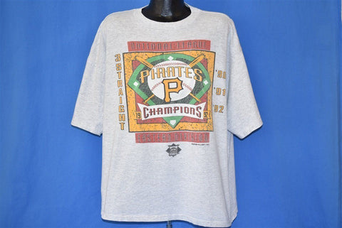 90s Pittsburgh Pirates 1992 NL East Champs MLB t-shirt XXL