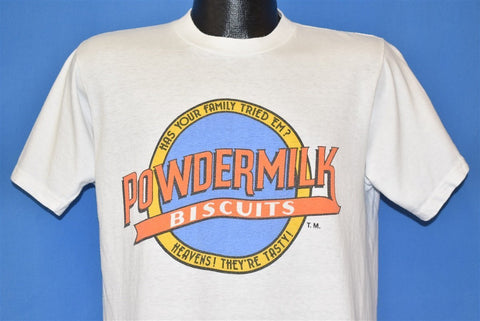 80s Powdermilk Biscuits Logo Prairie Home t-shirt Medium