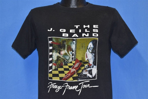 80s J. Geils Band Freeze Frame Tour 1981 Rock t-shirt Small