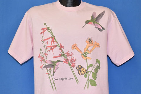 80s Los Angeles Zoo Bee Hummingbird Trumpet t-shirt Large