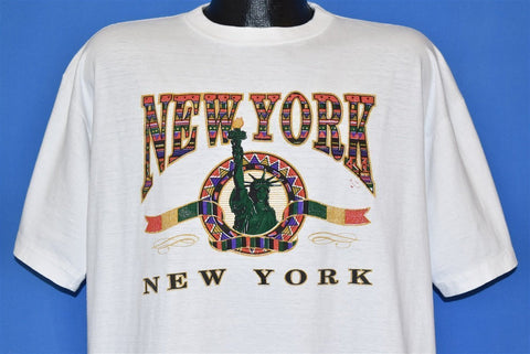 90s New York City NYC Statue of Liberty t-shirt Extra Large