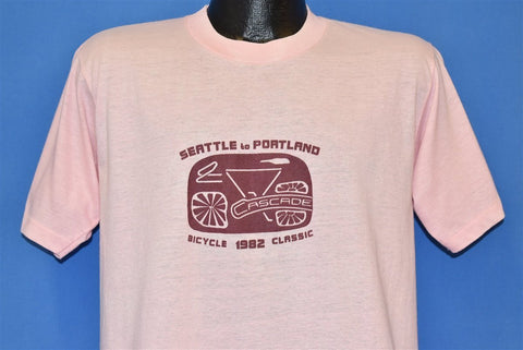 80s Seattle Portland Cascade Bicycle Club 82 t-shirt Medium