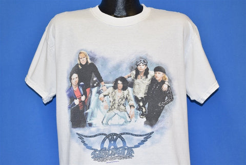 90s Aerosmith 1997 Nine Lives Tour Rock Band t-shirt Large