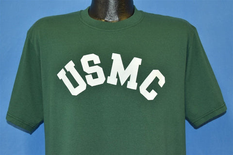 90s USMC Officer School US Marine Corps Military t-shirt Large