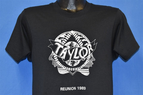 80s Taylor Reunion 1989 Globe Face Screen Stars t-shirt Medium