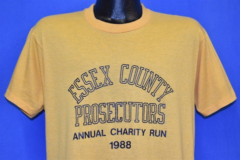 80s Essex County Prosecutors Charity Run 1988 t-shirt Large