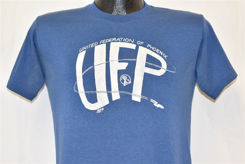 80s United Federation of Phoenix UFP Star Trek t-shirt Small